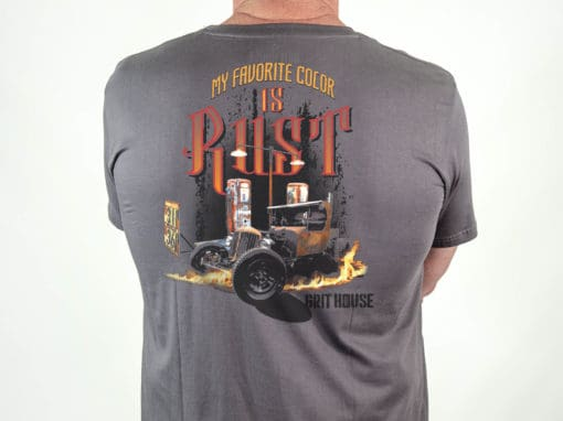 Favorite Color Dark Gray Short Sleeve