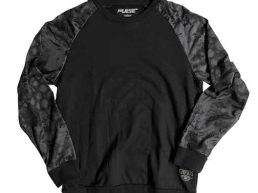 Midnight Crewneck Sweatshirt | Pulse Patterns
