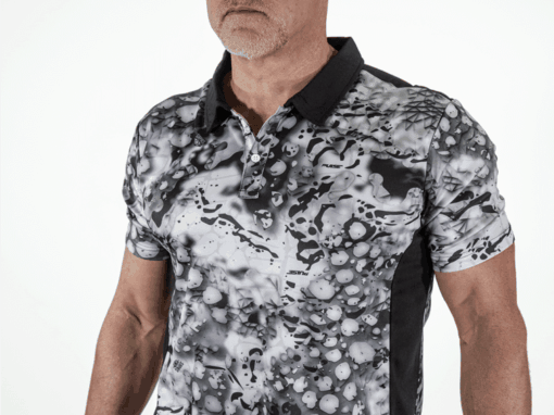 Blizzard Polo Shirt | Pulse Patterns