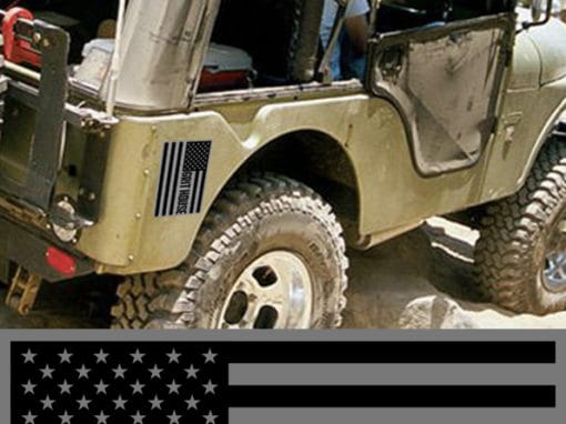 Grit House Flag Decal