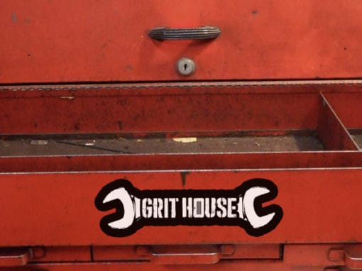 Grit House Wrench Decal