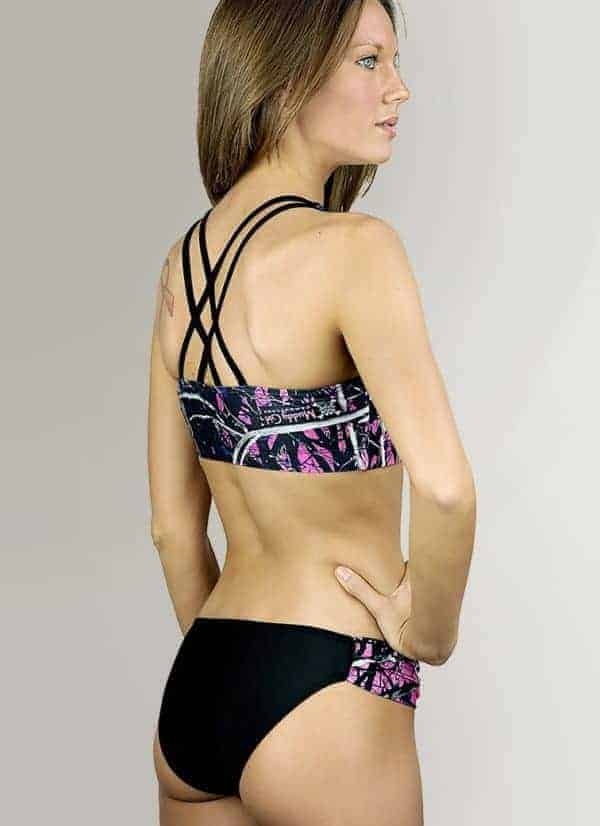 Swimwear Sport Bottom | Muddy Girl Camo