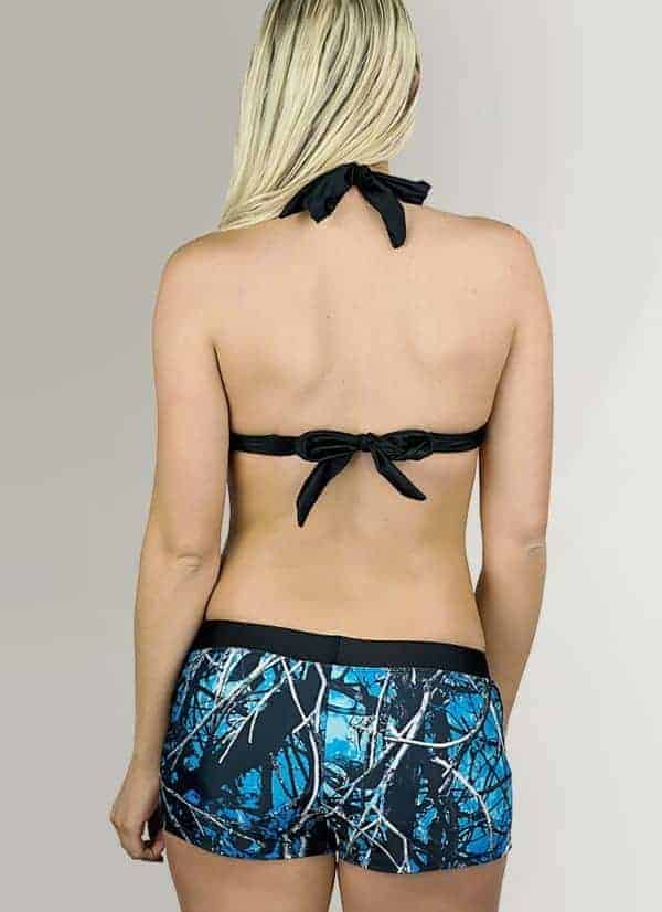 Swimwear Halter Top | Undertow Camo