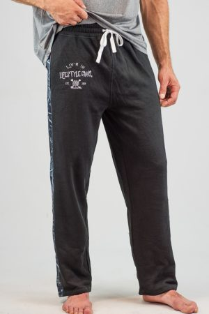 Black Sweatpants | Harvest Moon Camo
