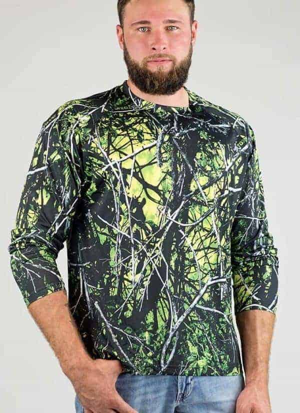 Enviroflex™ Long Sleeve Shirt | Toxic Camo