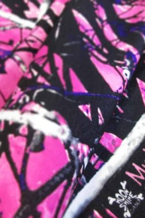 Fleece Muddy Girl Camo Fabric