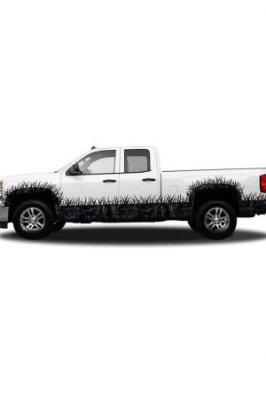Harvest Moon Camo Regular Cab Wheel Wells and Rocker Panel Camo Grass