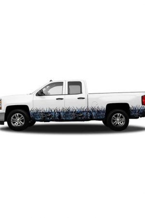 Undertow Camo Regular Cab- Rocker Panel Camo Grass