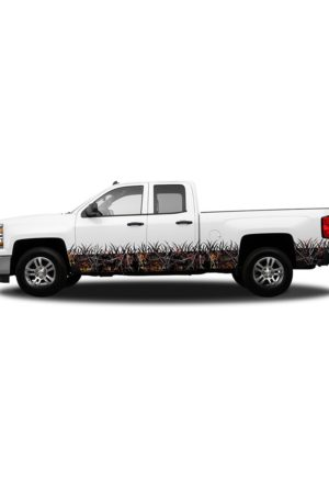 Wildfire Camo Regular Cab- Rocker Panel Camo Grass