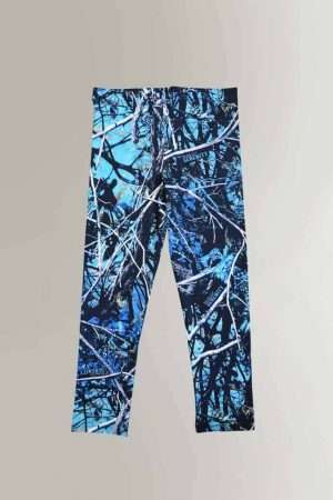 Youth Leggings | Serenity Camo