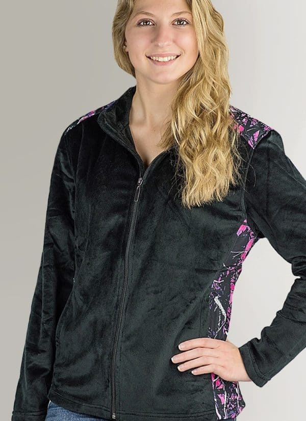 Fleece Jacket | Muddy Girl Camo